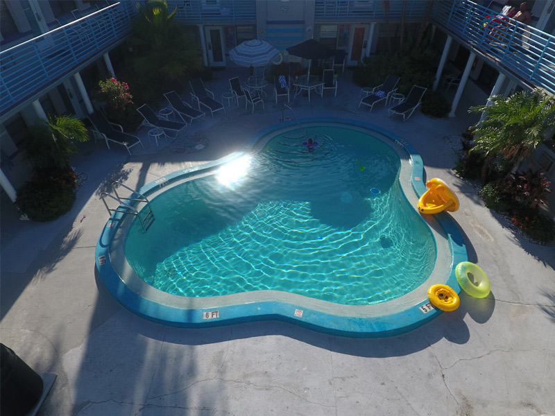 image of heated swimming pool